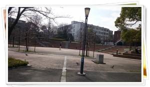 円形の広場