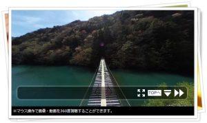夢の吊橋(寸又峡)
