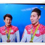 萩野公介と瀬戸大也がメダル獲得!表彰台の画像を紹介!