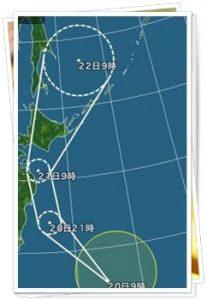台風11号2