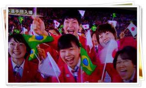 日本選手団