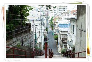 須賀神社の階段3