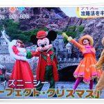 ディズニーシークリスマスショー(2016)の時間や場所は?15周年の見所!