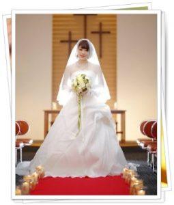 門田しほりの結婚写真