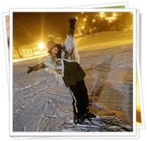 佐藤綾里のスキー