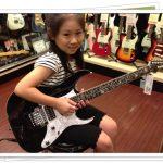 Li-sa-X(天才少女ギタリスト)の使用楽器は?本名や父親もチェック!