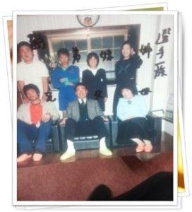 籠池氏家族写真