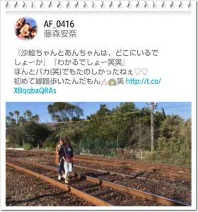 藤森安奈 線路