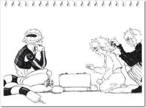 メルエムとコムギ