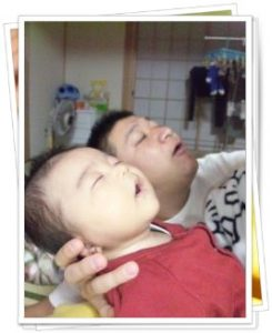 MICAの夫と子供