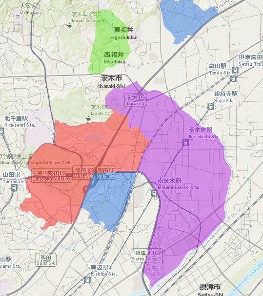 茨木市ガス状況