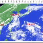 台風19号(2018)の規模や進路(米軍予想)は?九州大阪上陸日は!