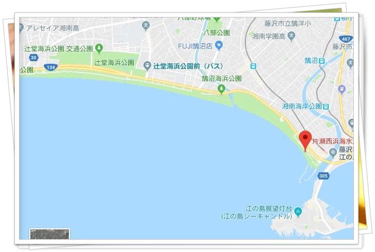 藤沢市納涼花火大会の穴場