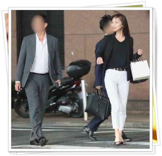 葉月里緒奈と夫