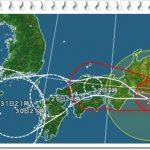 台風13号(2018年)の進路や規模は!東京大阪へはいつ上陸?