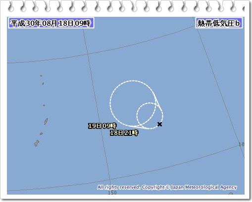 台風20号2018