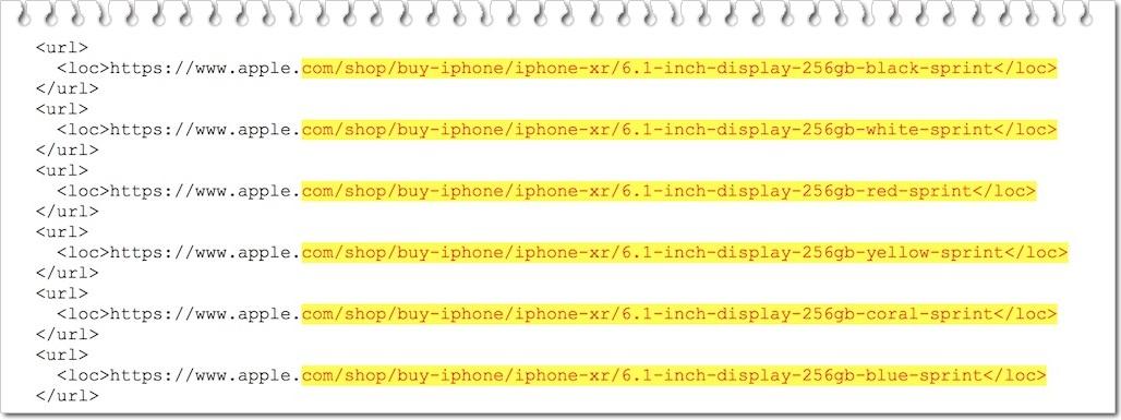 iPhoneXRとXS