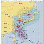 台風25号(2018)の札幌や北海道上陸は何日のいつ頃?進路や強さも!