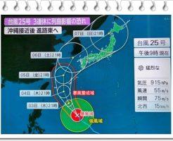 台風25号3