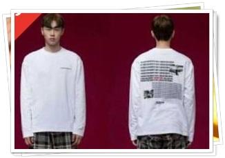 BTSのTシャツ2