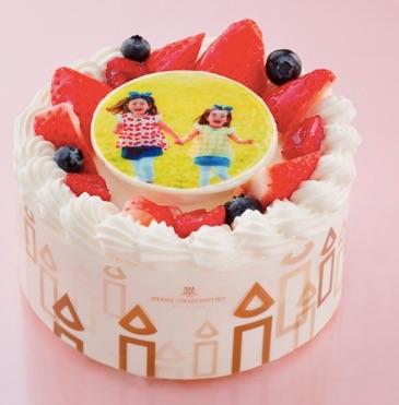 アンリ・シャルパンティエ写真ケーキ