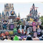 ディズニーハロウィーン2019のパレード停止位置やルートは?キャラクターも!
