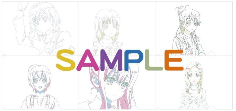 SHIROBAKO前売り特典クリアファイル